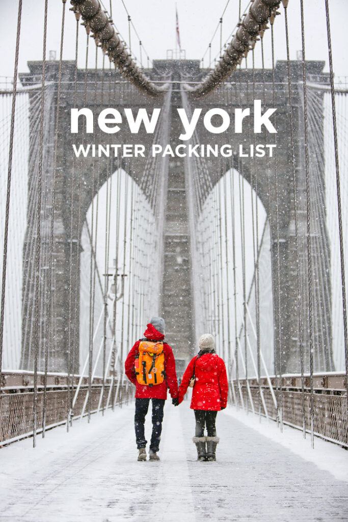 New York Packing List Winter - Outfits for New York in Winter + New York City Outfits // localadventurer.com
