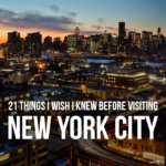 21 Things You Need to Know Before Visiting NYC