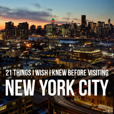 21 Tips for Visiting New York - What I Wish I Knew // localadventurer.com