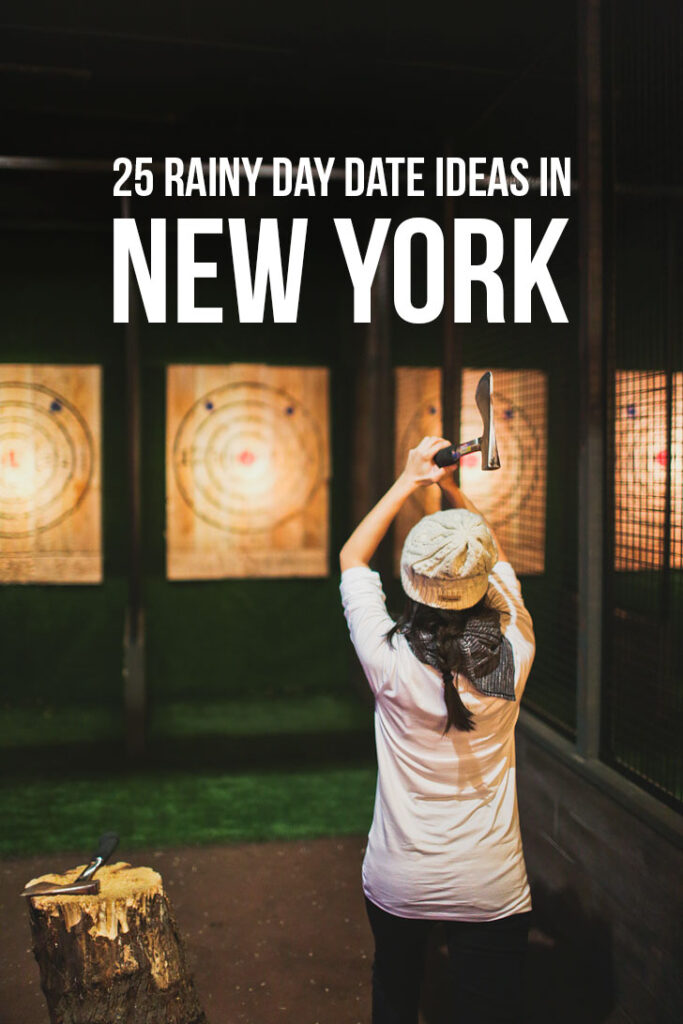 25 Fun Rainy Day Date Ideas NYC // localadventurer.com