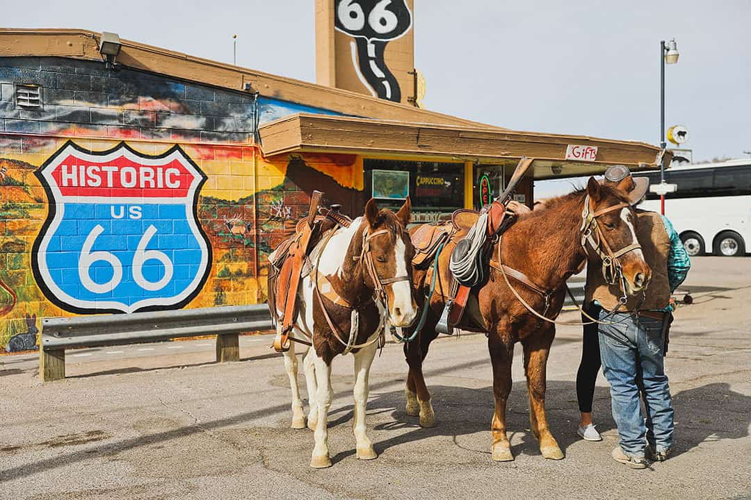 Route 66 Seligman + 15 Best Day Trips from Las Vegas