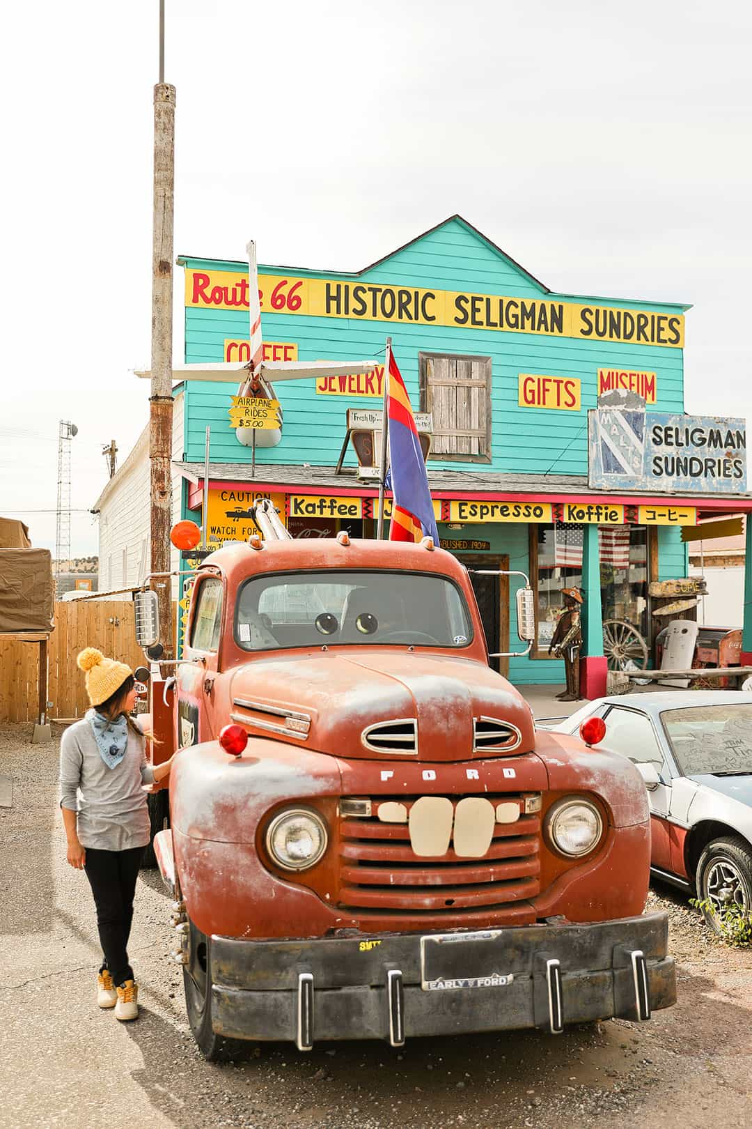 Seligman AZ on Route 66 + 15 Best Day Trips from Las Vegas