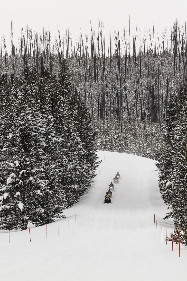 Yellowstone Snowmobile Lottery + 11 Most Difficult National Park Lotteries // localadventurer.com