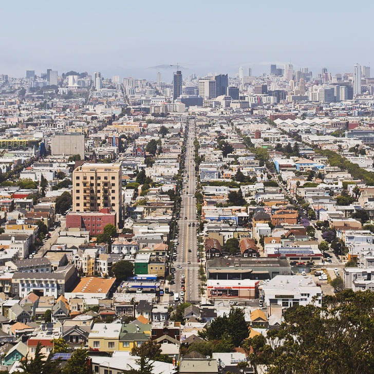 Bernal Heights View + 101 Things to Do in San Francisco // Local Adventurer