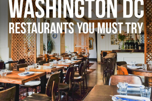 49 Best Places To Eat In Washington Dc Local Adventurer