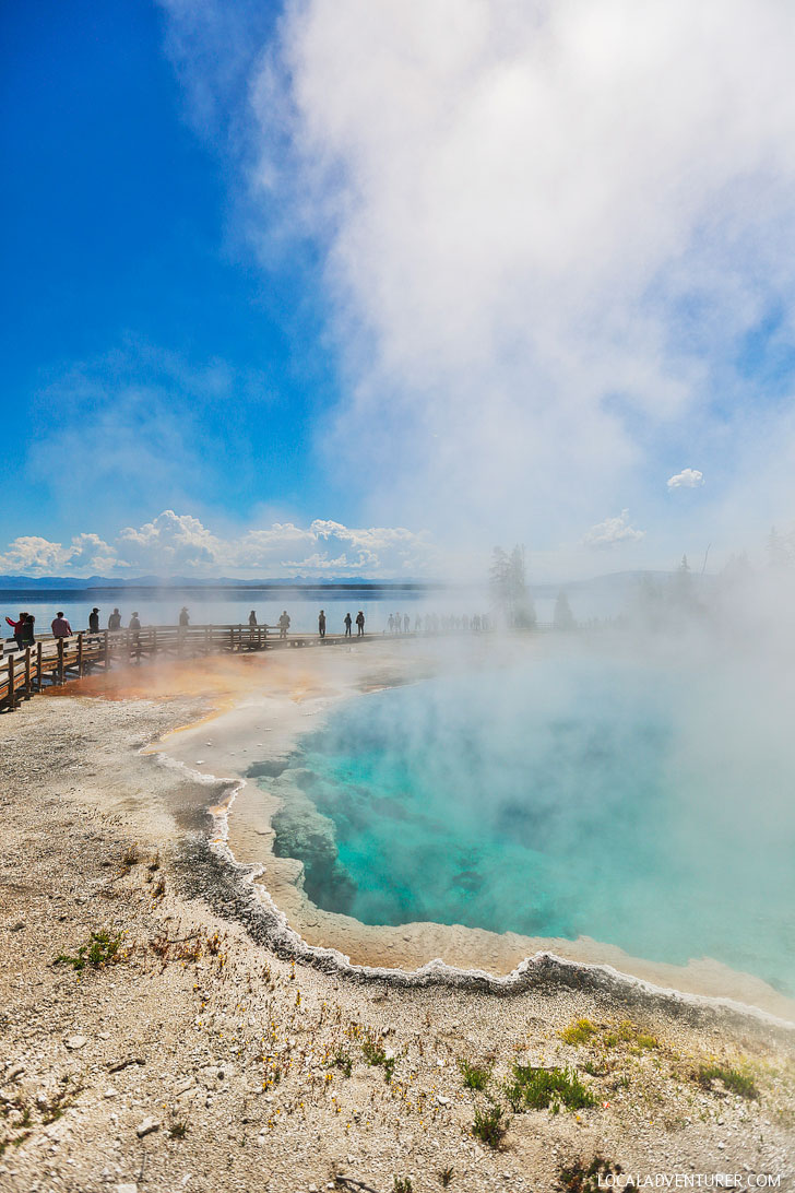Black Pool, West Thumb Geyser Basin, Yellowstone National Park + Tips for Your Visit // Local Adventurer