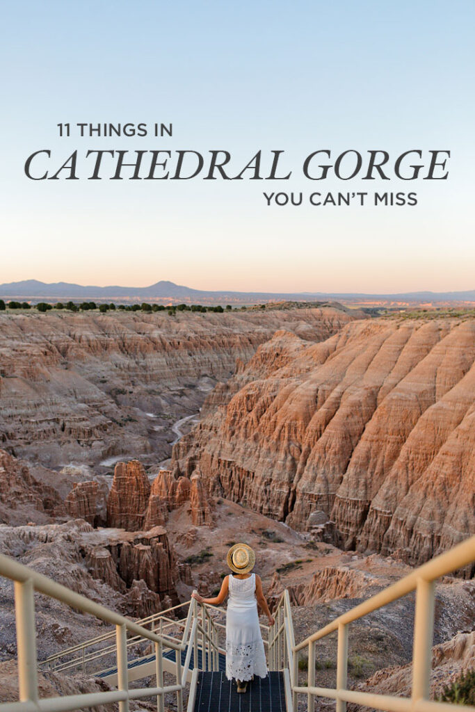 11 Things You Can't Miss in Cathedral Gorge State Park - Nevada State Parks // localadventurer.com