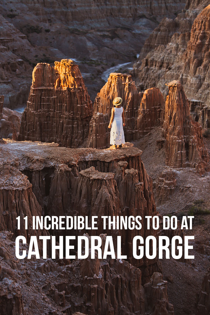 11 Incredible Things to Do in Cathedral Gorge State Park Nevada // localadventurer.com