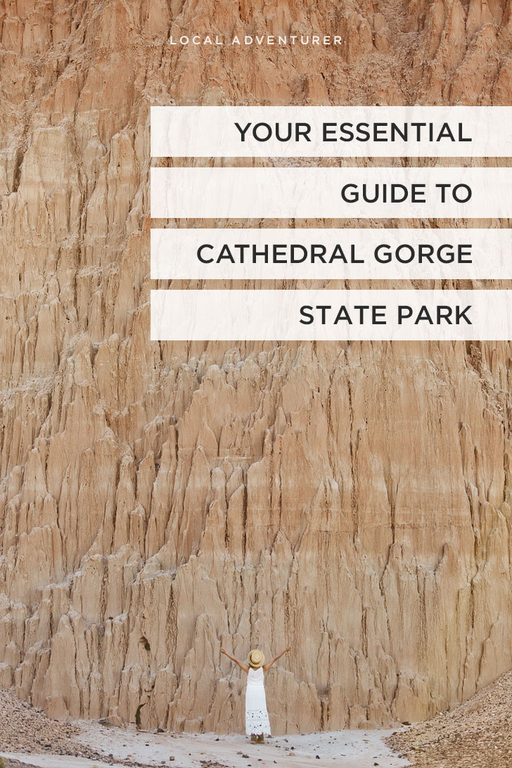 Your Essential Guide to Cathedral Gorge State Park Nevada // localadventurer.com