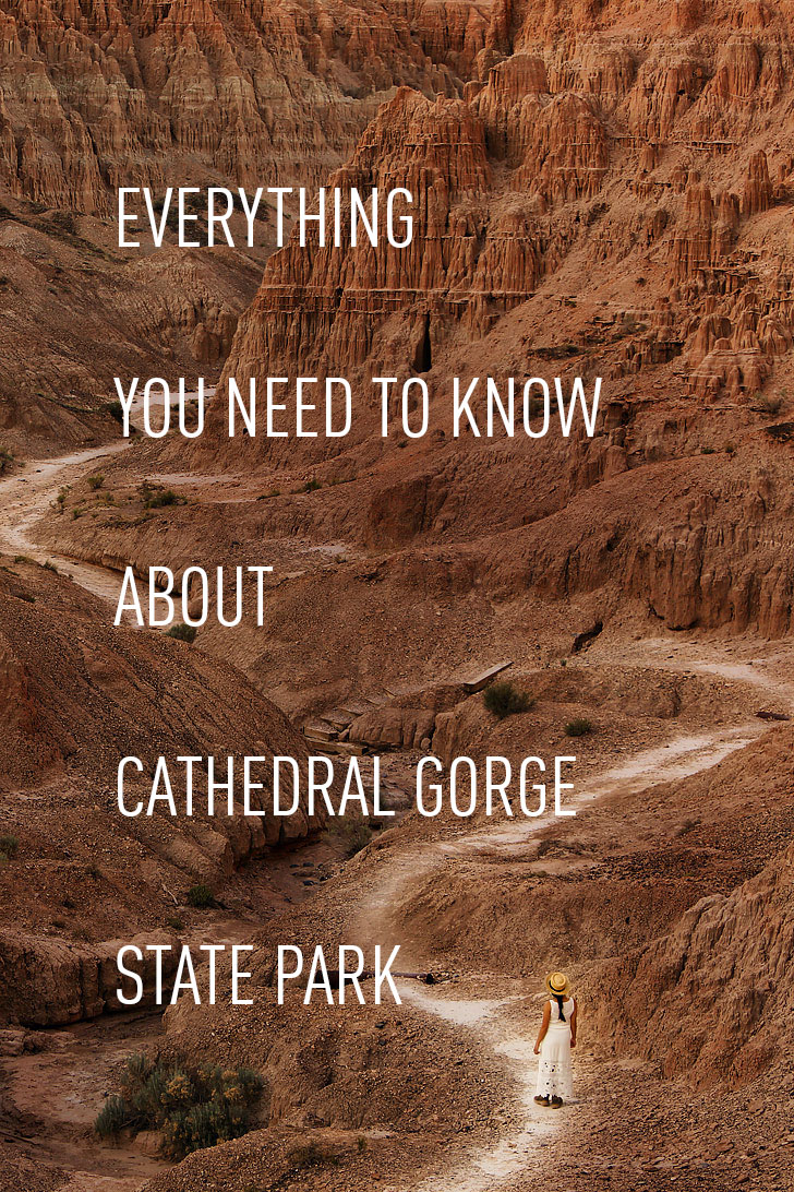 Everything You Need to Know About Cathedral Gorge State Park in Nevada // localadventurer.com
