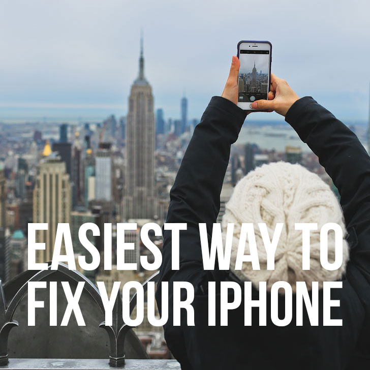 Easiest Way to Fix Your iPhone { They Come to You! }