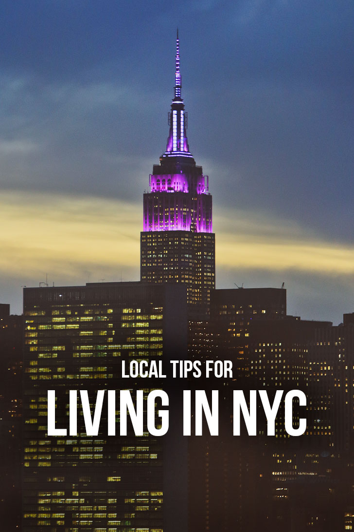 Local Tips for Living in New York City // Local Adventurer