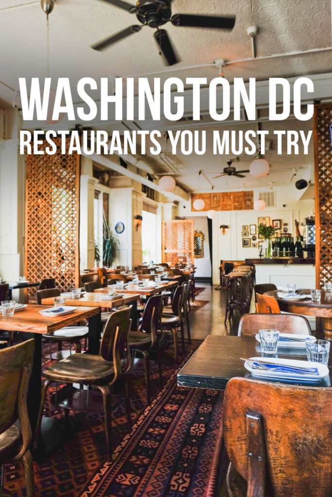 49 Amazing Restaurants in the DC Area