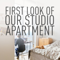First Look of Our New Studio Apartment in NYC