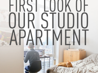 First Look of Our Studio Apartment in NYC // Local Adventurer
