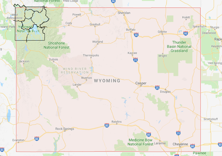 Yellowstone Park Map Wyoming + Tips for Your Visit // Local Adventurer