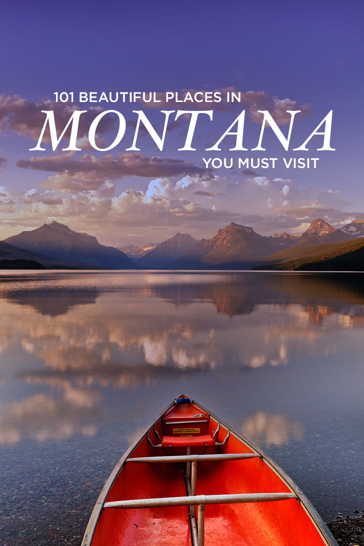 The Best Places to Visit in Montana - 101 Amazing Montana Road Trips, Adventures, and Places to See // Local Adventurer #montana #visitmontana #montanamoment
