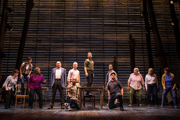 Come From Away - One of the Top Musicals in NYC // Local Adventurer #nyc #musicals #broadway