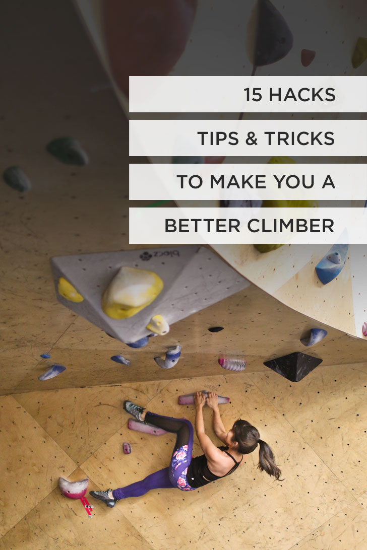 15 Indoor Rock Climbing Tips and Hacks to Make You a Better Climber #climbing #rockclimbing #bouldering // Local Adventurer