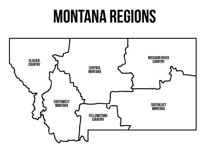 101 Montana Adventures You Must Take Broken Down by Region // Local Adventurer #montana #montanamoment