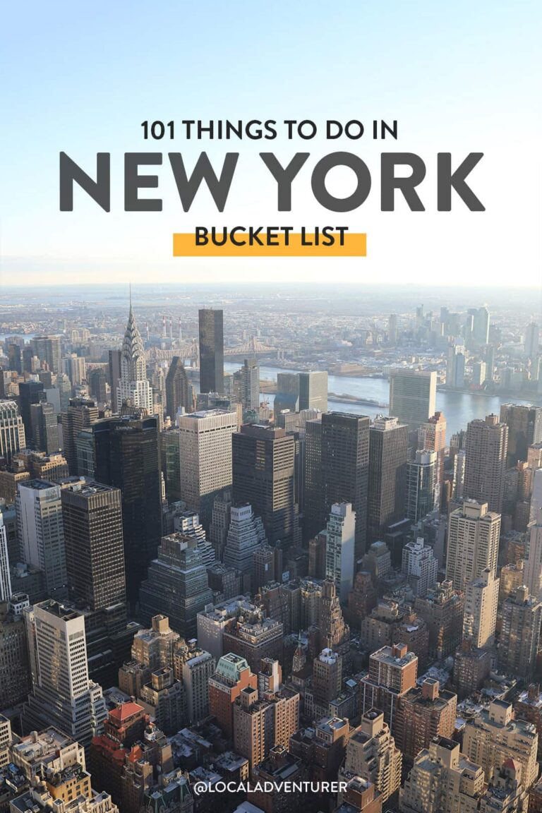 101 Things to Do in NYC - The Ultimate New York City Bucket List