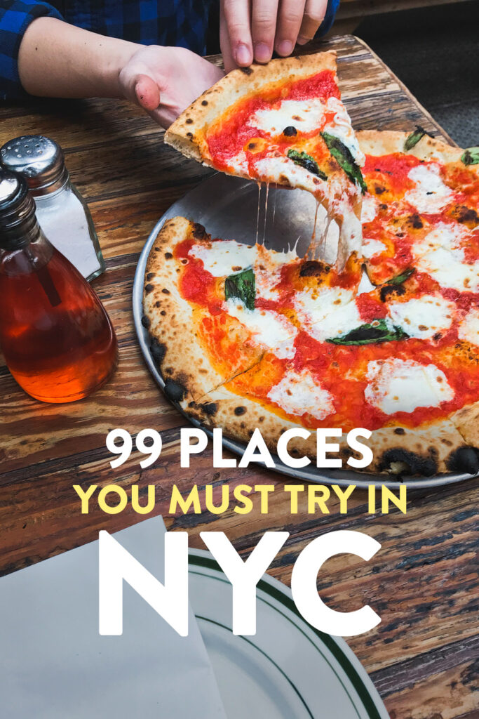 99 Places to Eat in NYC
