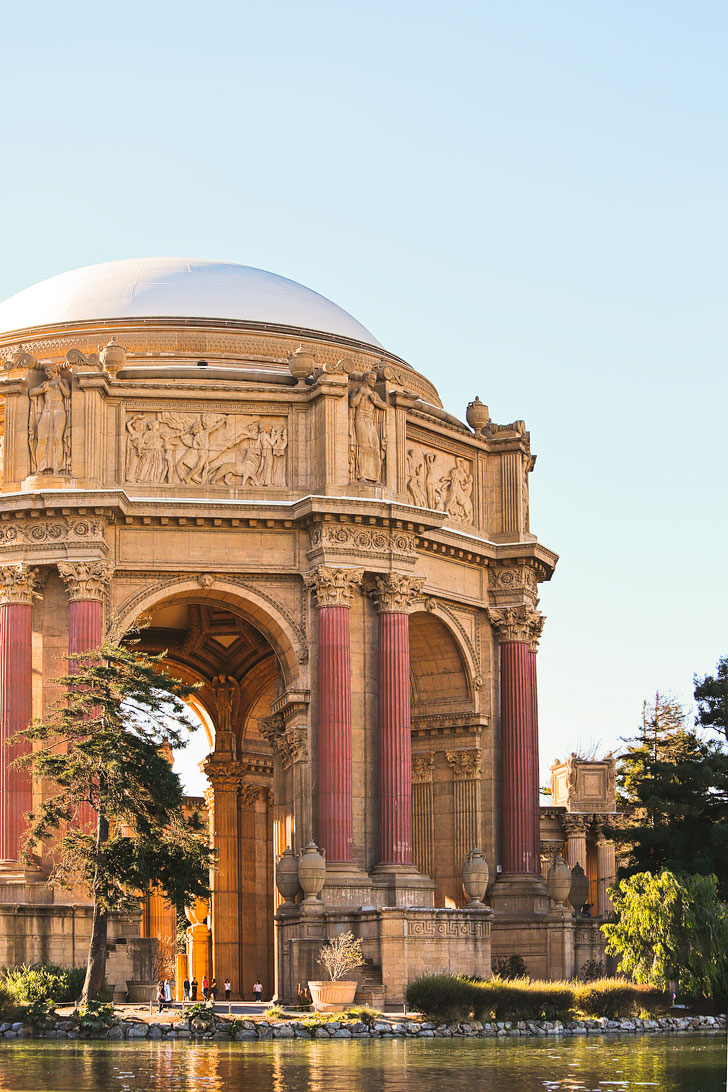 Palace of Fine Arts Theatre + 25 Free Things to Do in San Francisco // Local Adventurer #sanfrancisco #sf #california