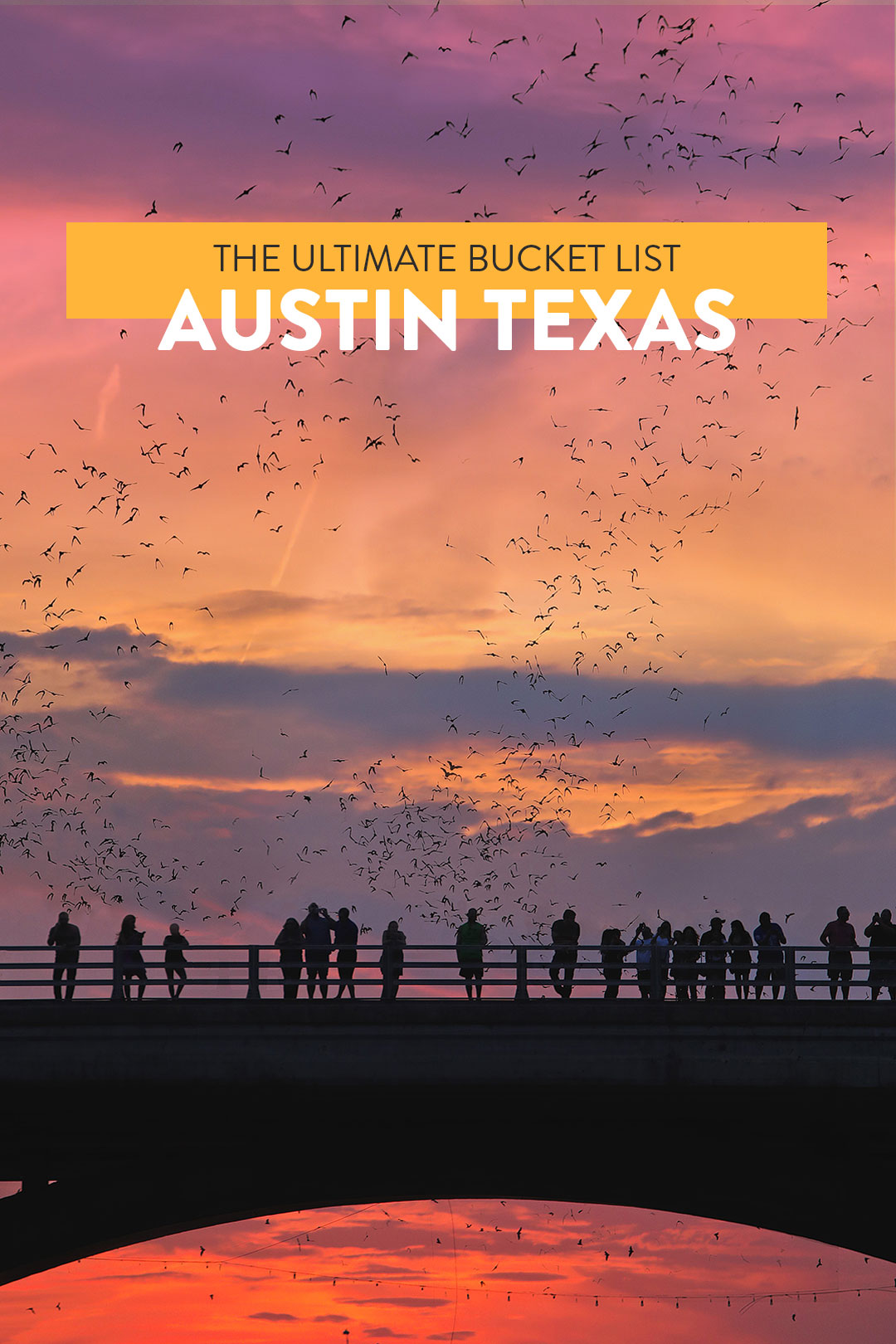 Your Ultimate Austin Bucket List + Click through to see 101 Things to Do in Austin Texas // Local Adventurer #atx #austin #texas