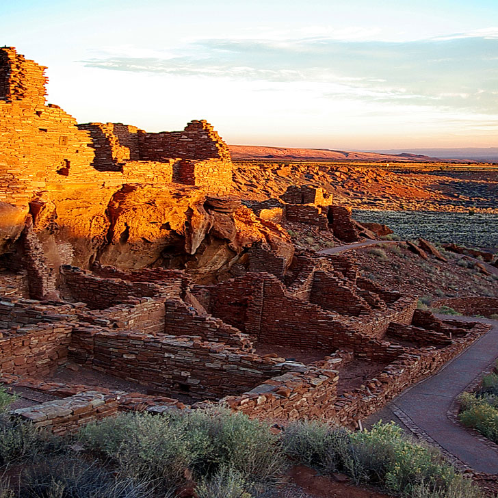 Wupatki National Monument near Flagstaff Arizona + 15 Best Road Trips from Las Vegas (photo: Alan English) // Local Adventurer #arizona #roadtrip