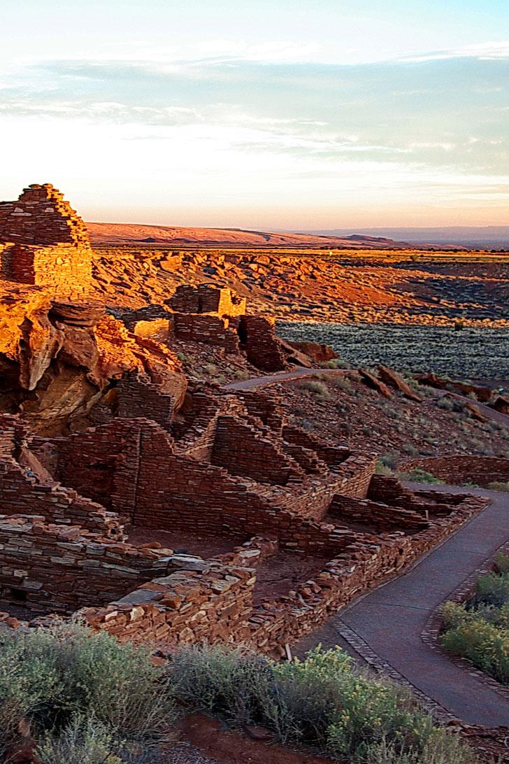Wupatki National Monument near Flagstaff Arizona + 15 Best Road Trips from Vegas (photo: Alan English) // Local Adventurer #arizona #roadtrip