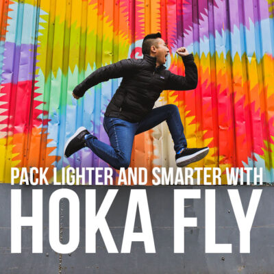 Best Travel Shoes - Pack Lighter and Smarter with Hoka Fly // Local Adventurer #hoka