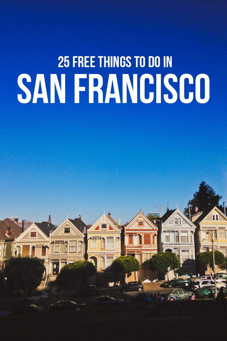 25 Top Free Activities in San Francisco Bay Area // Local Adventurer #sanfrancisco #bayarea #california