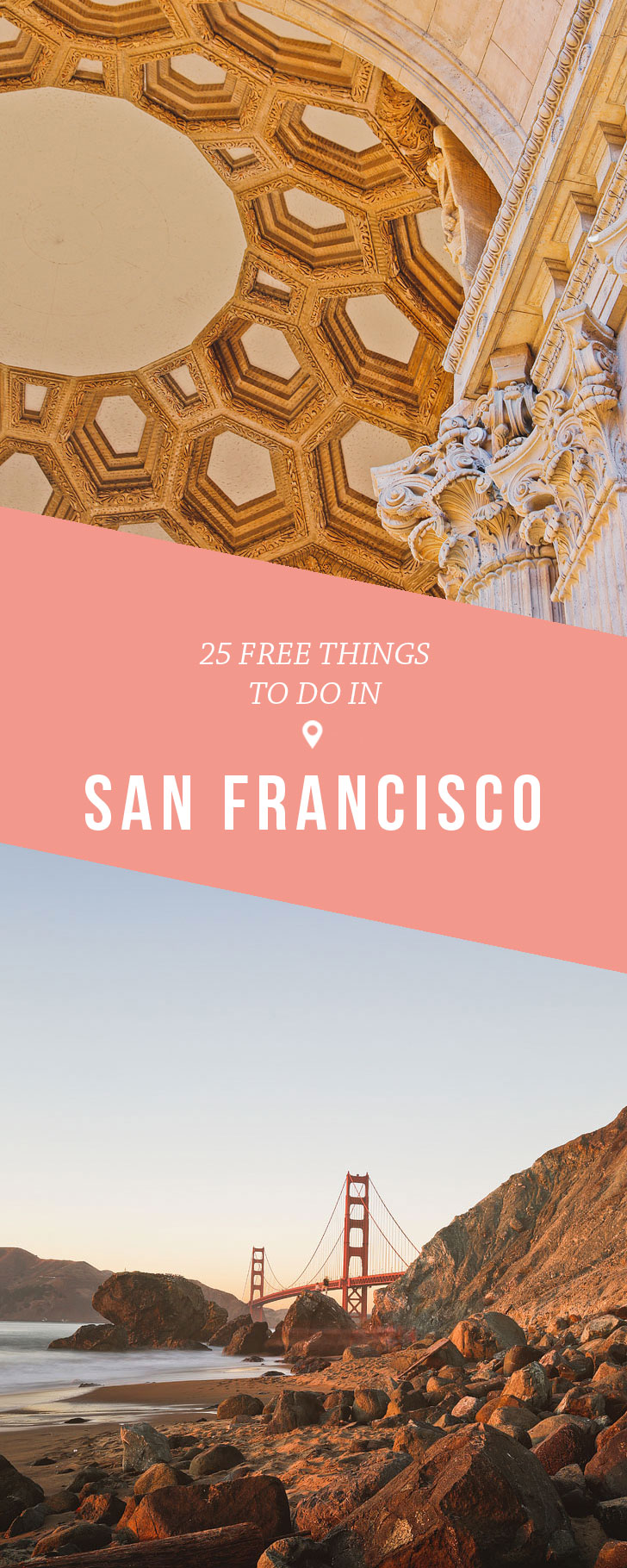 25 Free Things to Do in San Francisco California // Local Adventurer #sanfrancisco #sf #bayarea