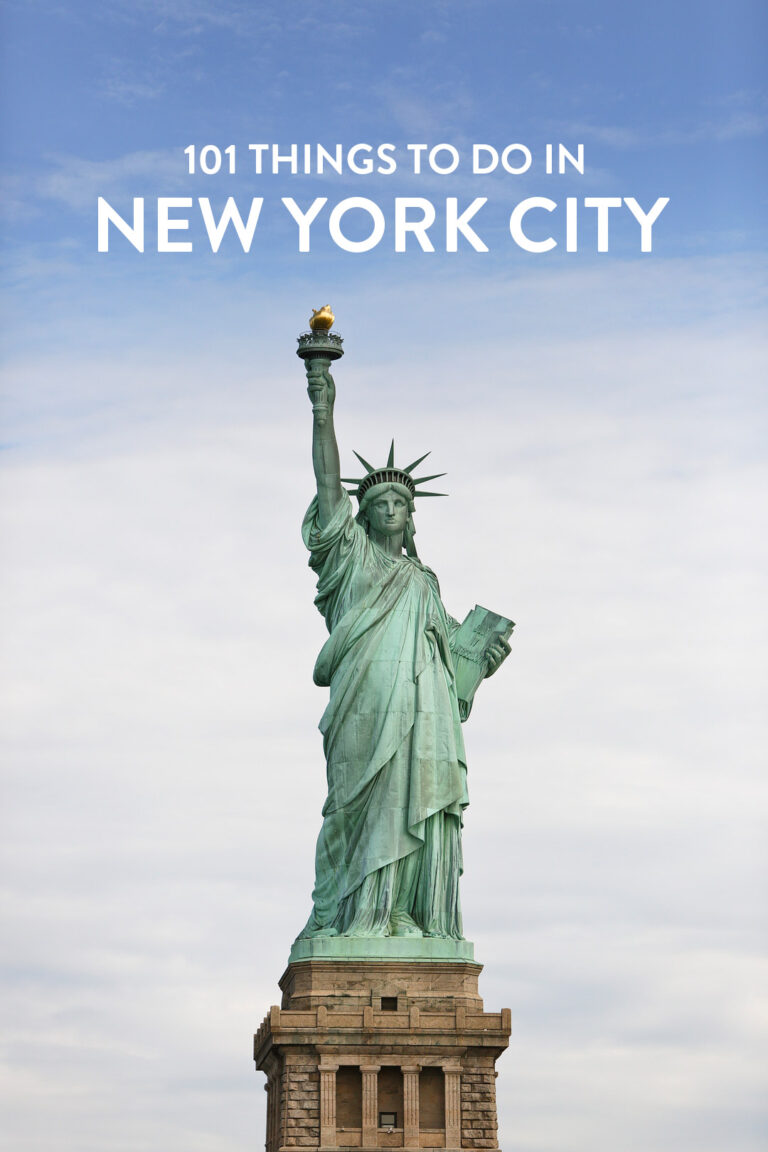 Do you live in NYC or are you visiting soon? Save this pin and click through to see our ultimate New York City bucket list to help you get out and explore. It includes 101 things to do to do in NYC • Top New York tourist attractions you have to do at least once plus other unique and off the beaten path places to visit in New York // Local Adventurer #nyc #nycgo #newyork #newyorkcity #localadventurer #bucketlist