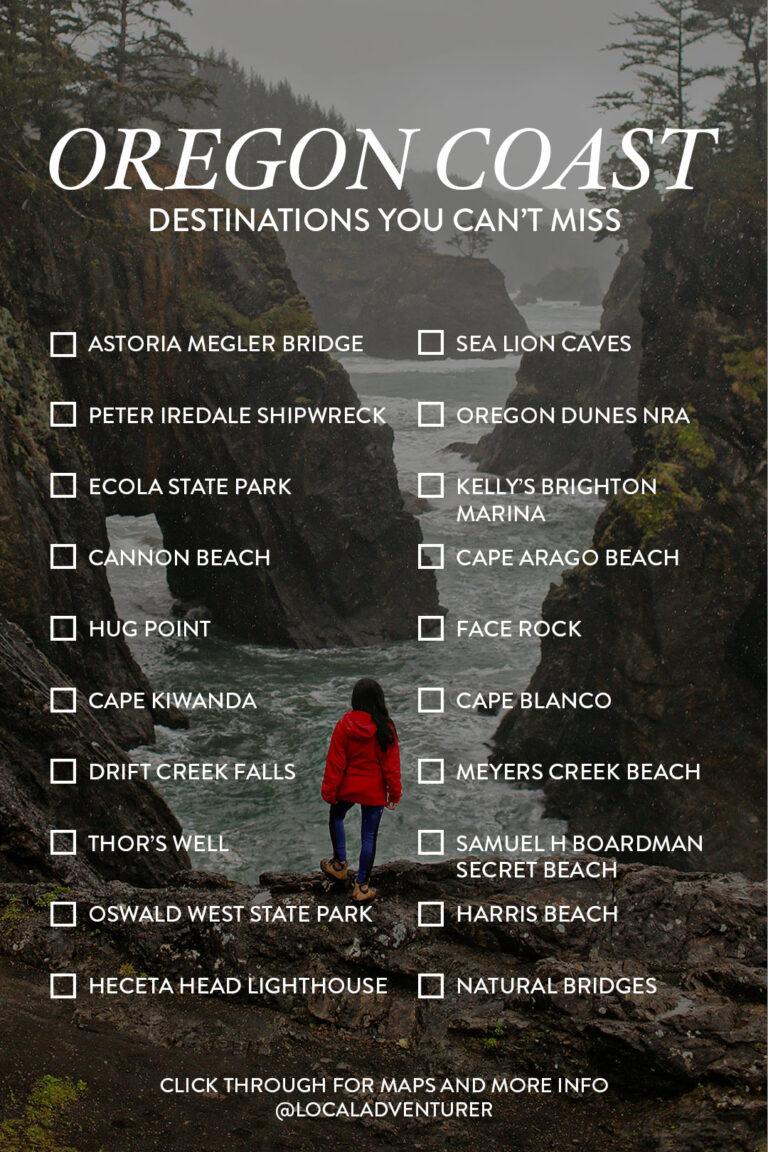 Oregon Coast Road Trip Destinations You Can't Miss