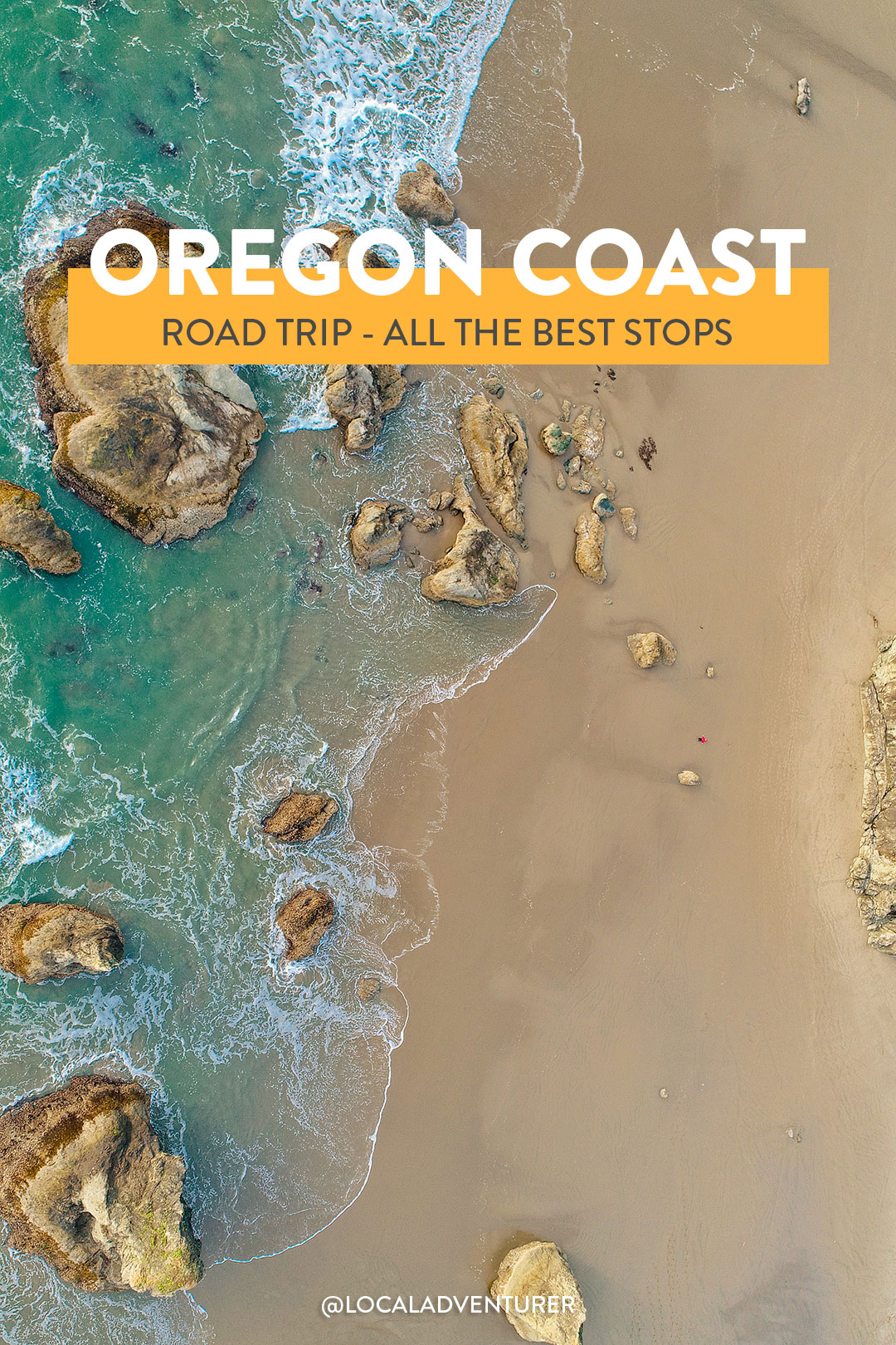 The Ultimate Oregon Coast Road Trip -Pictured here is Face Rock State Scenic Viewpoint