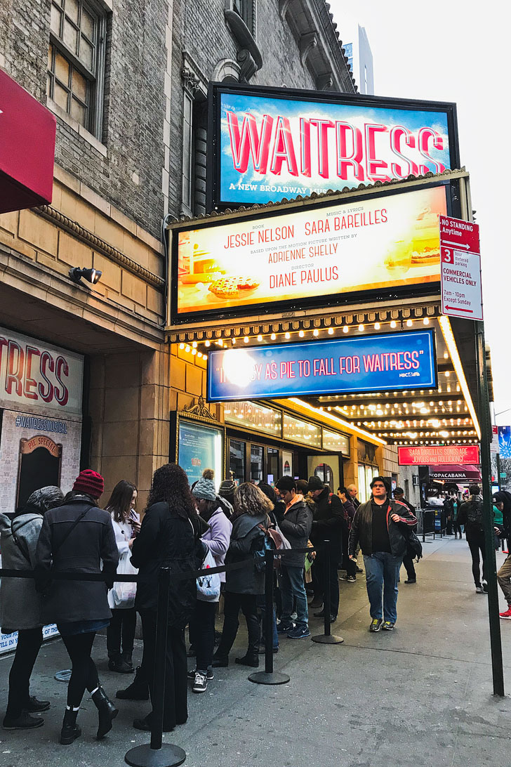 Waitress Musical On Broadway Your Guide To Watching Shows Local Adventurer