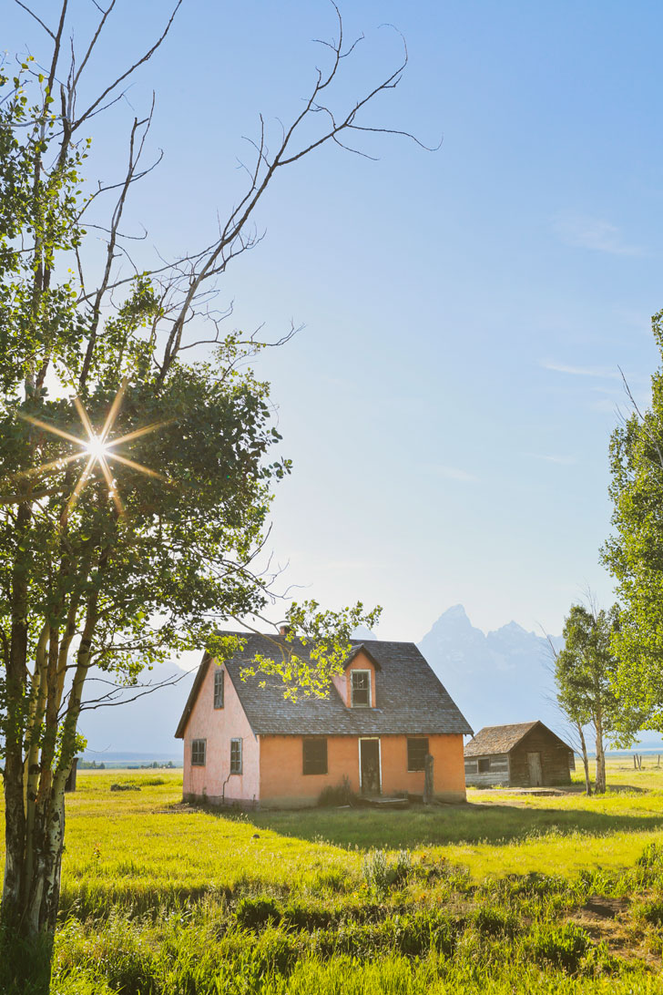 Mormon Row, Grand Teton National Park, Moose, Wyoming + Your Ultimate Guide to Grand Teton NP - Best Things to Do, Hikes, Camping, Activities, and More Beautiful Places You Can't Miss // Local Adventurer #wyoming #thatswy #grandteton