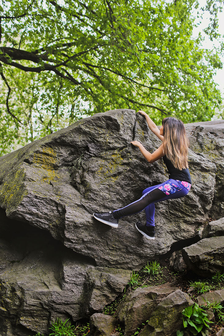 Bouldering in Central Park, Central Park Rock Climbing NYC // Local Adventurer #nyc #bouldering #newyork