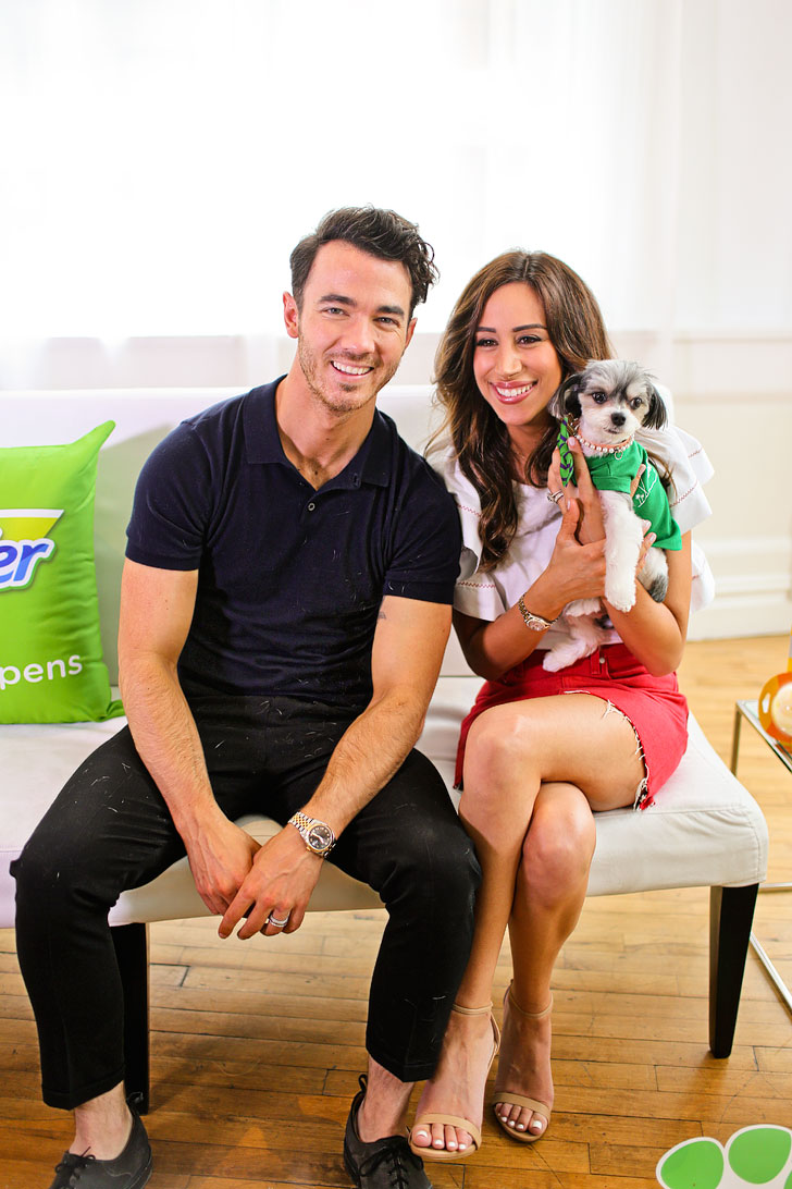Danielle and Kevin Jonas Swiffer Event NYC // Local Adventurer #swiffer #shedhappens