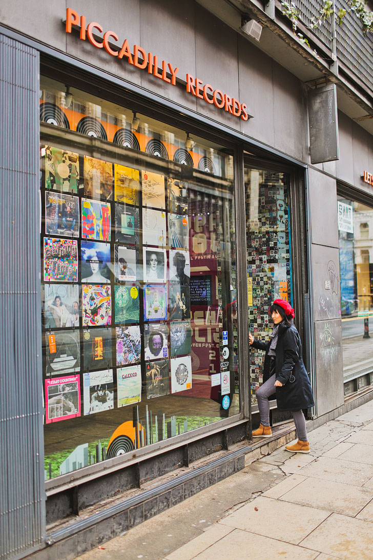 Picadily Records + More Record Shops in Manchester England + 25 Amazing Things to Do in Manchester England // Local Adventurer #vinyl #manchester #england #uk