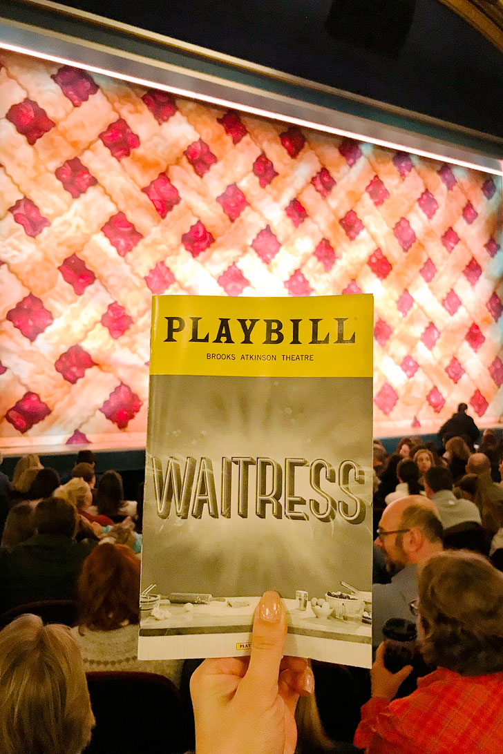 Waitress Musical on Broadway + Your Guide to Watching Broadway Shows // Local Adventurer #nyc #newyork