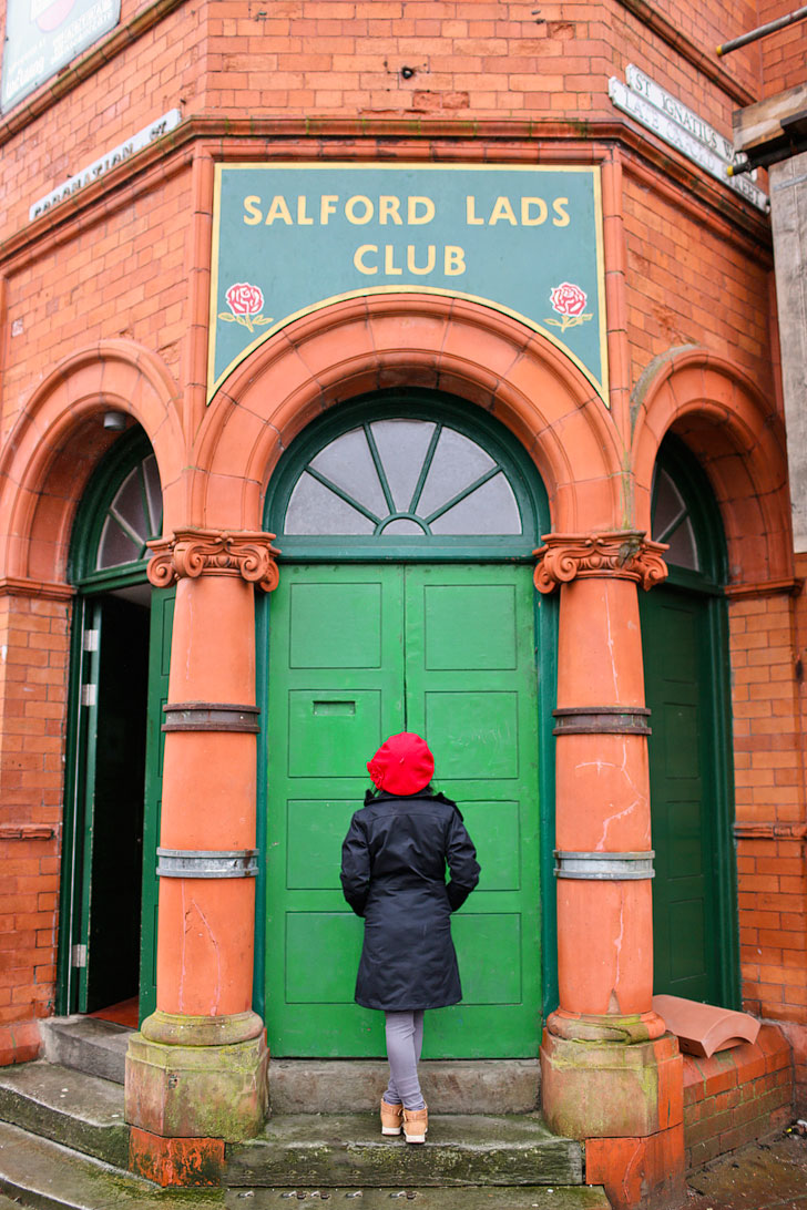 Salford Lads Club - Smiths Album Cover Location + Traveling to the UK? Manchester is our favorite city in England. Click through for 15 Incredible Things to See in Manchester England + How to Spend the Perfect Weekend Here // Local Adventurer #manchester #uk #england