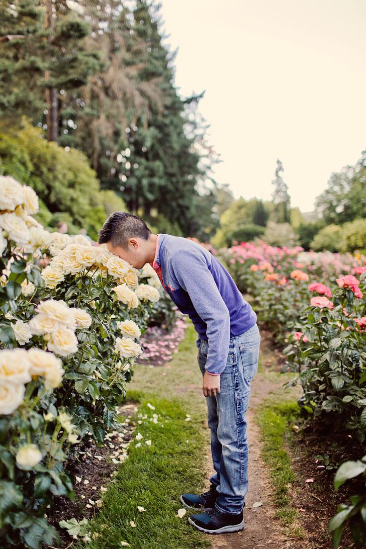 International Rose Test Garden Portland Oregon // Local Adventurer #portland #pdx