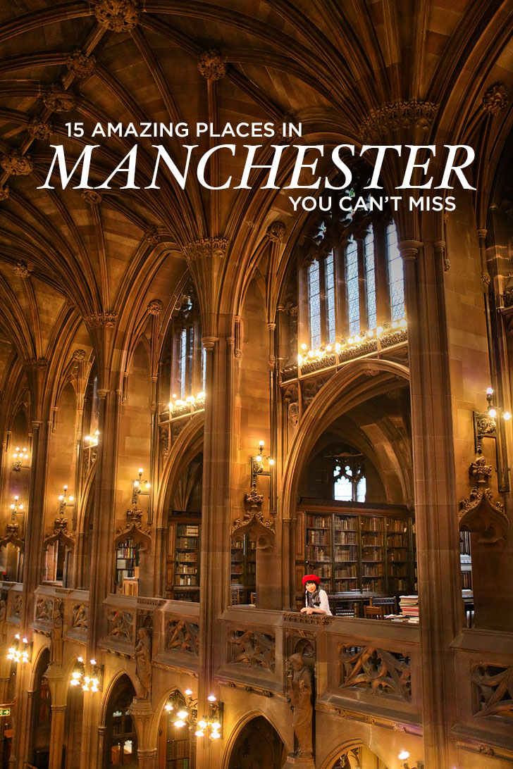 If you're headed to London, you absolutely must also check out Manchester, an easy 2 hour train ride away. Click to see the 15 Amazing Places to Visit in Manchester England UK - Your Essential Manchester City Guide // Local Adventurer #manchester #england #europe