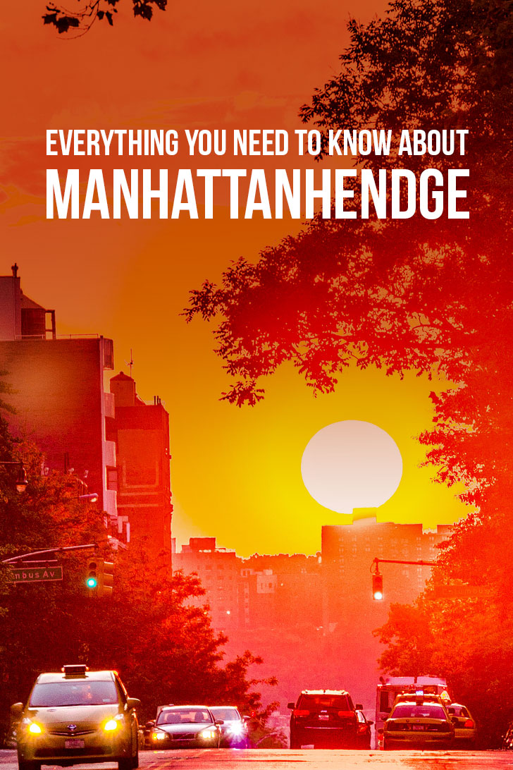 Everything You Need to Know About Manhattanhendge - Best Place to See Manhattanhendge, What Dates, Photography Tips and More // Local Adventurer #nyc #manhattanhendge