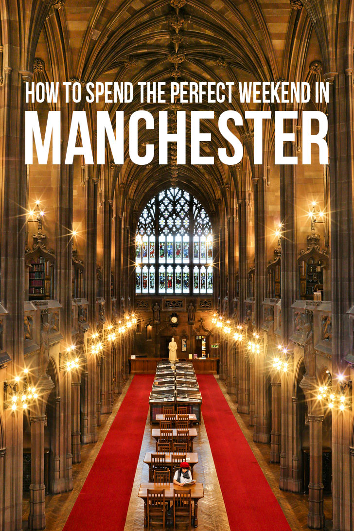 Traveling to the UK? Manchester is our favorite city in England. Click through for 15 Incredible Things to See in Manchester England + How to Spend the Perfect Weekend Here // Local Adventurer #manchester #uk #england