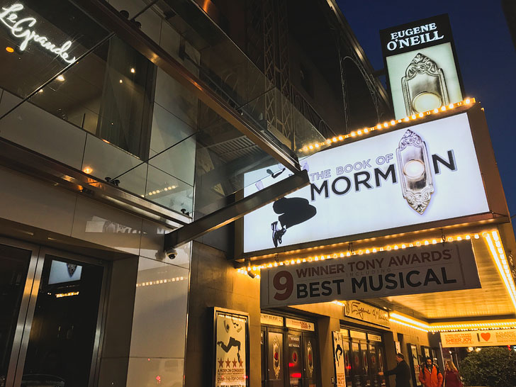 Book of Mormon Musical on Broadway NYC + 5 Broadway Shows You Can't Miss in New York City // Local Adventurer #nyc #newyork