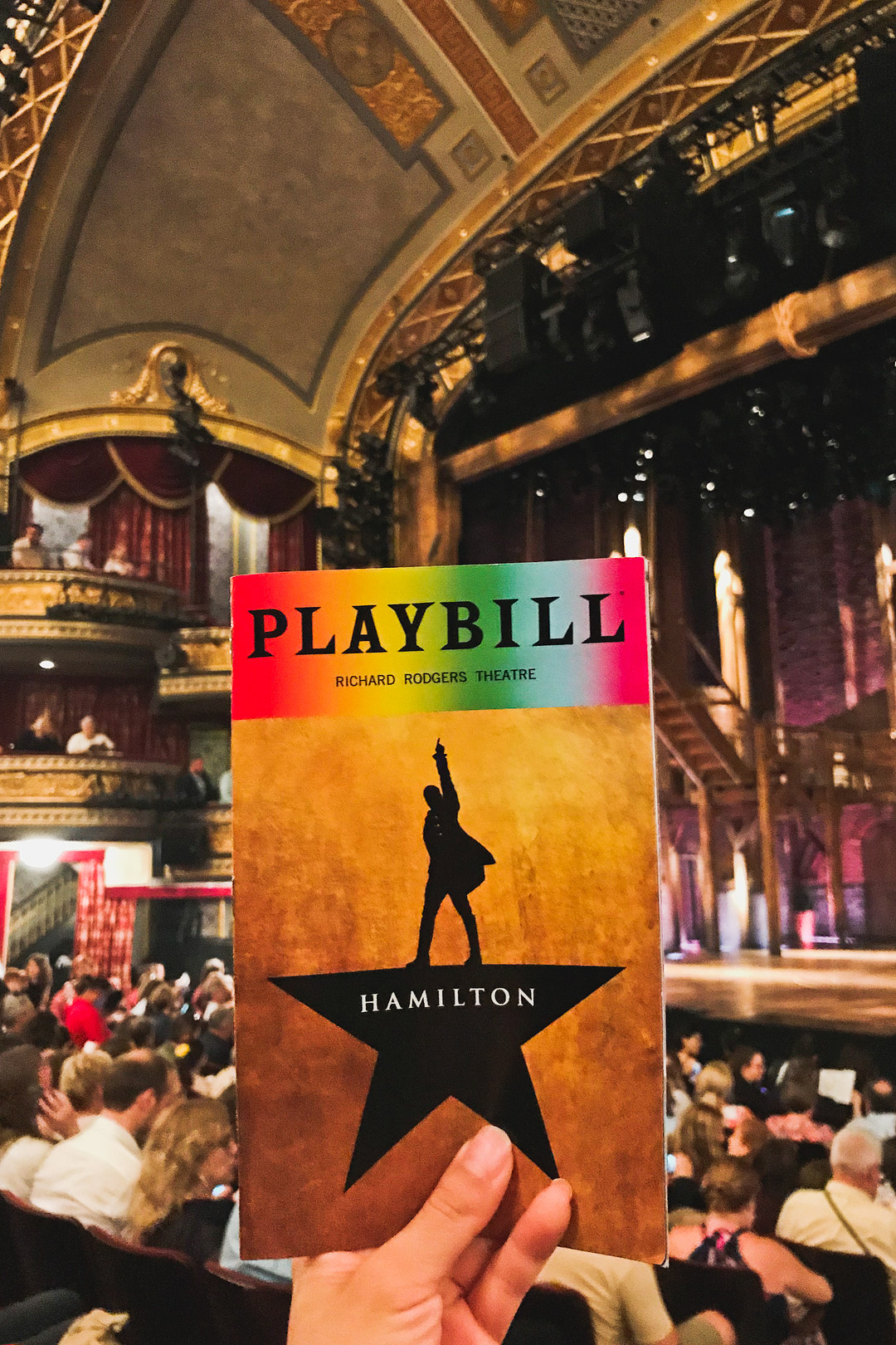 Hamilton on Broadway New York City