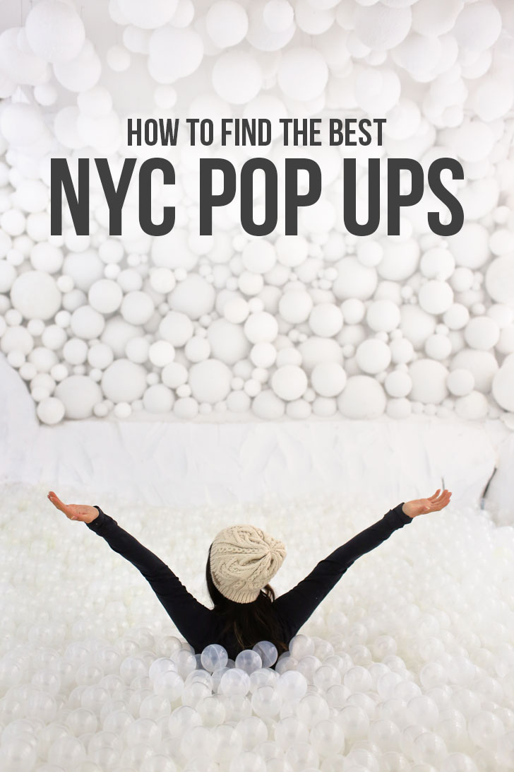 Pop Up New York - How to Find the Best NYC Pop Up Events // Local Adventurer #nyc #newyork